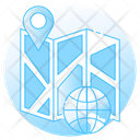 Map Navigation Map Location Map Pin Icon