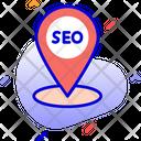 Local Seo Location Seo Icon