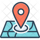Locate Navigation Direction Icon