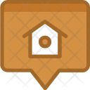 Location Bank Home Icon