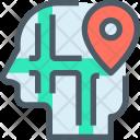 Location Human Mind Icon