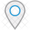 Pin Map Locator Icon