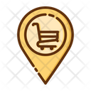 Shopping Location Shopping Placeholder Location Pointer Icon