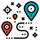 Location Map Gps Icon