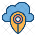 Location Cloud Location Placeholder Location Pointer Icon