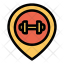 Gym Location Map Pin Icon