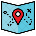 Location Map Sticky Icon