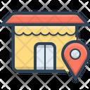 Location Market Shop Icon