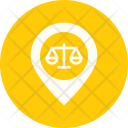 Location Court Map Icon