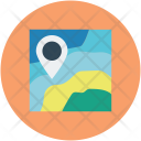 Location Map Navigational Icon