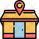 Location Navigation Cafe Icon