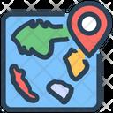 Seo Location Map Pin Icon