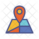 Navigation Map Direction Icon