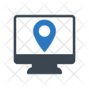 Location Pin Online Icon