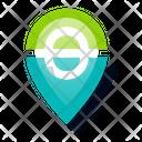 Geo Location Pointer Icon
