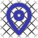 Location Pin Pointer Icon