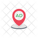 Ad Location Map Icon