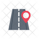 Map Road Location Icon