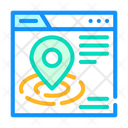 Location Targeting Seo Icon
