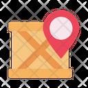 Location Parcel Map Icon