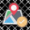 Location Gps Map Icon