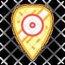 Medieval Shield Color Icon