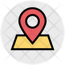 Location Map Direction Icon