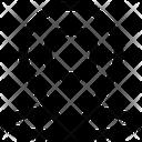 Direction Pin Web Icon