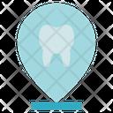 Dental Care Dentist Location Icon