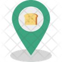 Location Bakery Shop Location Bakery Address Icon