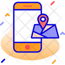 Location Map Mobile Location Icon