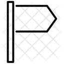 Location Pin Flag Icon