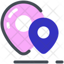 Location Pins Places Icon