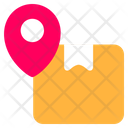 Location Pin Box Icon