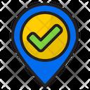 Location Direction Alarm Icon