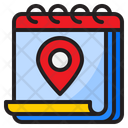 Location Day Event Icon