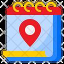 Location Day Event Icon