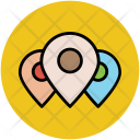 Location Pins Pointers Icon