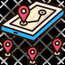 Location Direction Man Icon