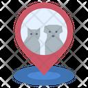 Location Landmark Pet Zone Icon