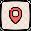 Location Navigation Marker Icon