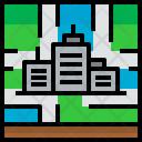 Location City Map Icon