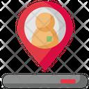 Location Pin Marker Icon