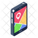 Location App Map Location Navigation App Icon