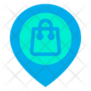 Bag Ecommerce Location Icon