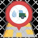 Location Car Wash Car Service Location Car Service Icon