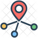 Seo Direction Location Icon