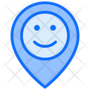 Location Feedback Good Happy Icon