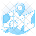 Location Finder Searching Map Map Location Icon