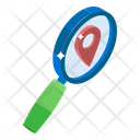 Map Search Finding Location Address Finding Icon